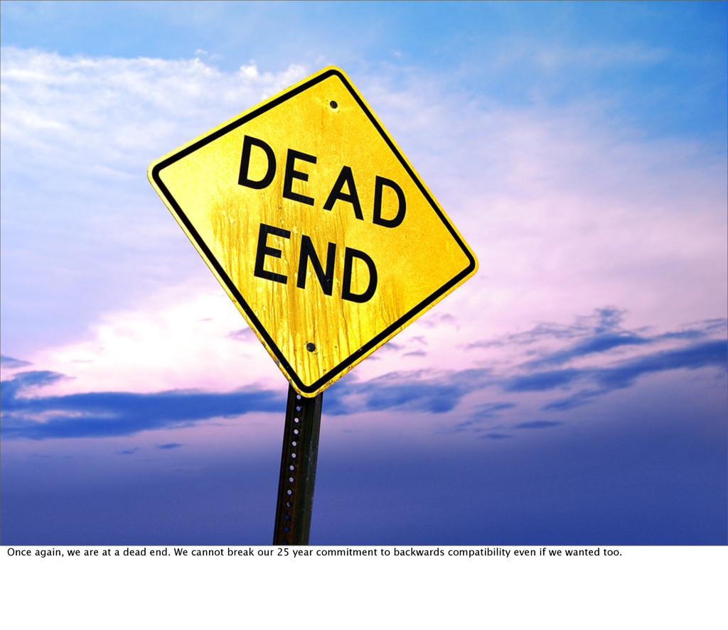 Once again, we are at a dead end. We cannot bre...