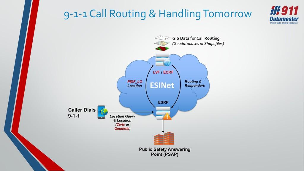 ESINet Caller Dials 9-1-1 Public Safety Answeri...