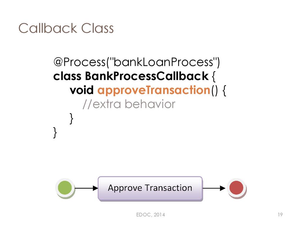 "Callback Class @Process(""bankLoanProcess"") clas..."