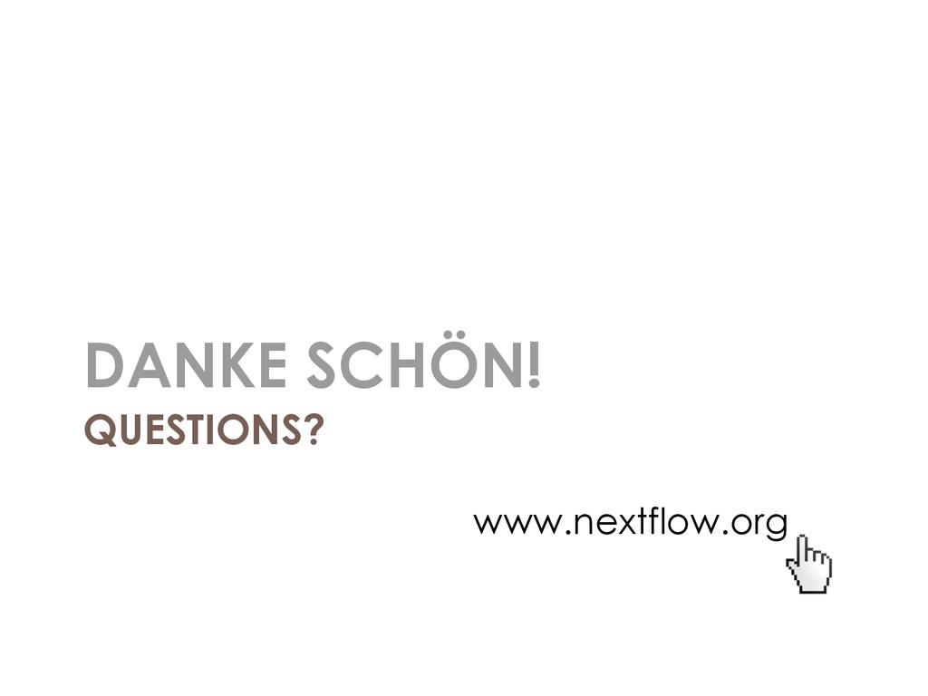 QUESTIONS? DANKE SCHÖN! www.nextflow.org