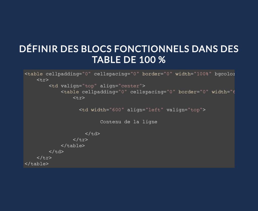 DÉFINIR DES BLOCS FONCTIONNELS DANS DES TABLE D...