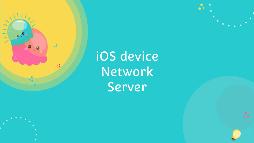 iOS device Network Server