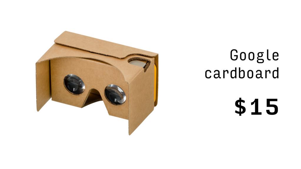 $15 Google cardboard