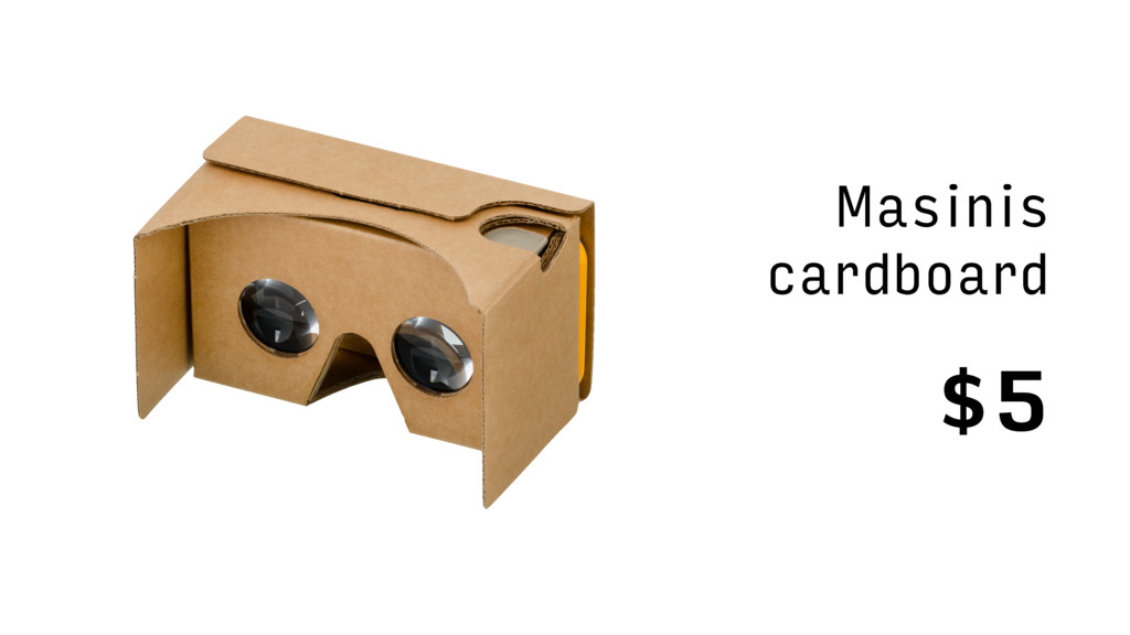 $5 Masinis cardboard