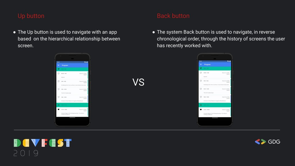 Up button ● The Up button is used to navigate w...