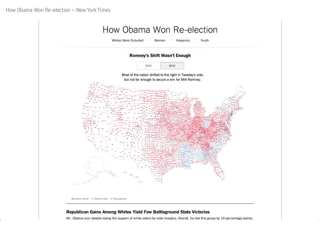 How Obama Won Re-election – New York Times