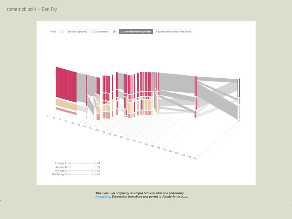 isometricblocks – Ben Fry