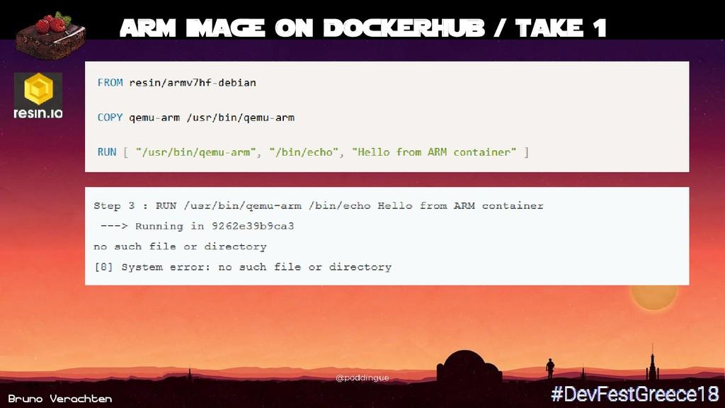 Bruno Verachten 45 ARM image on DockerHub / tak...