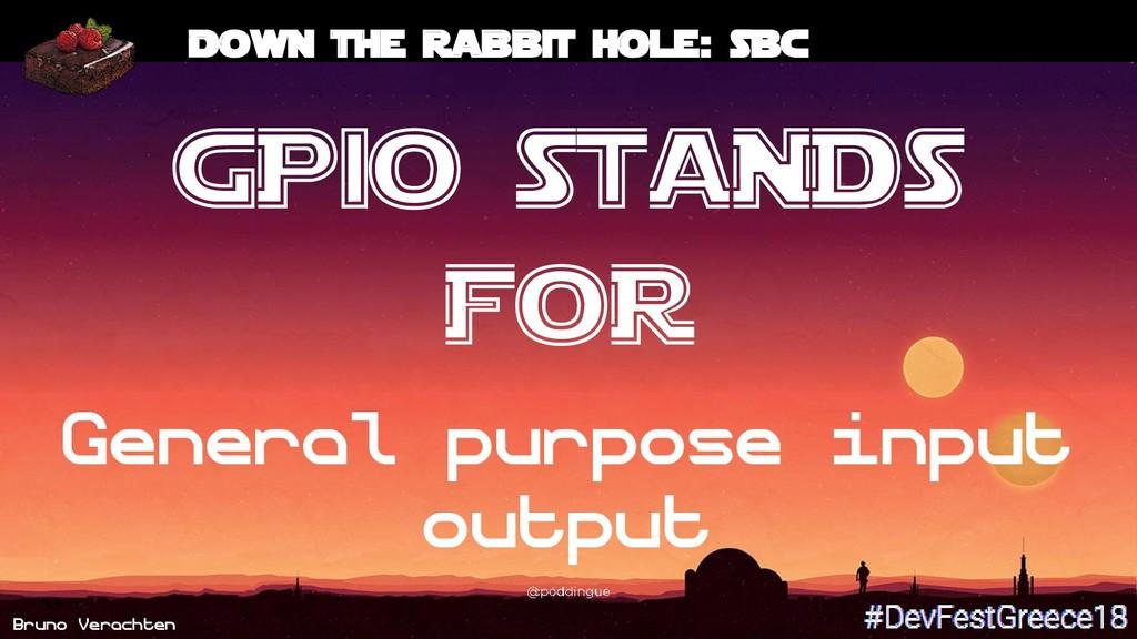 Bruno Verachten 53 Down the rabbit hole: SBC GP...