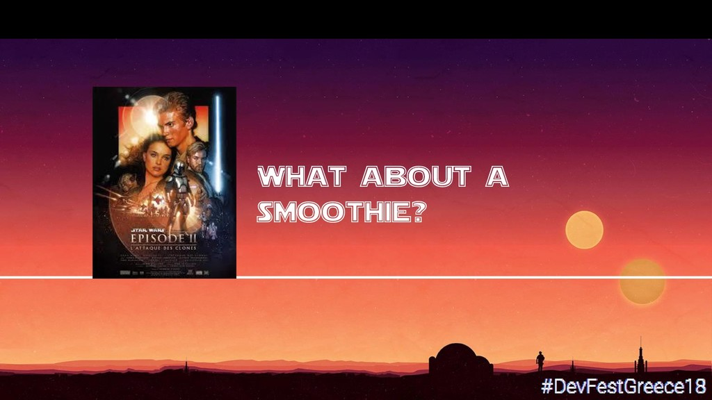 What about a smoothie?