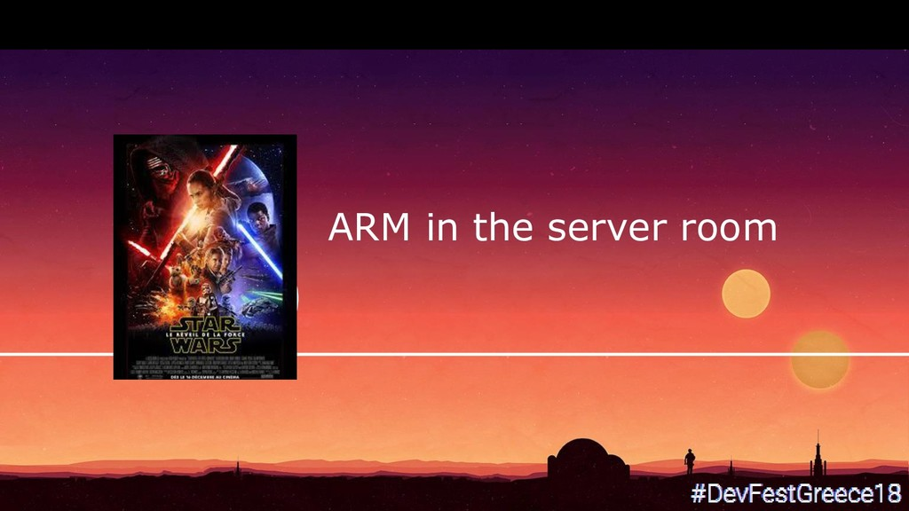 ARM in the server room