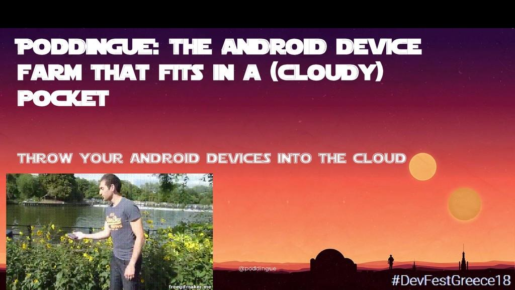 Bruno Verachten %[PoDdinG##U#E]*: the Android d...