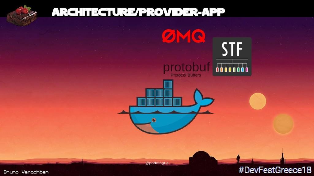 Bruno Verachten 21 Architecture/Provider-App