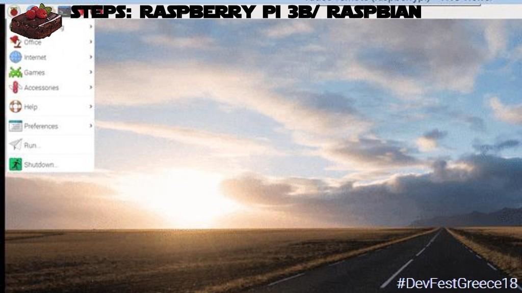 Bruno Verachten 36 ● What if… steps: raspberry ...