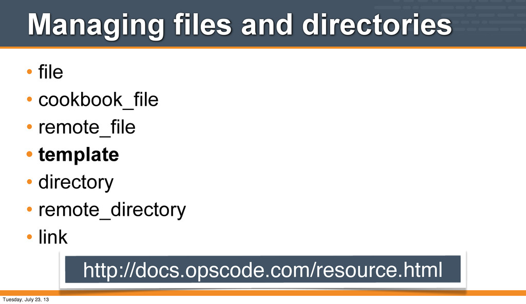 Managing files and directories • file • cookboo...