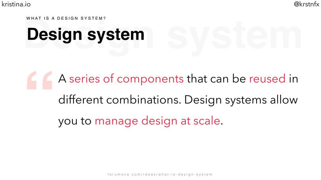 @krstnfx kristina.io Design system Design syste...