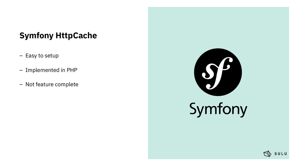 Symfony HttpCache – Easy to setup – Implemented...