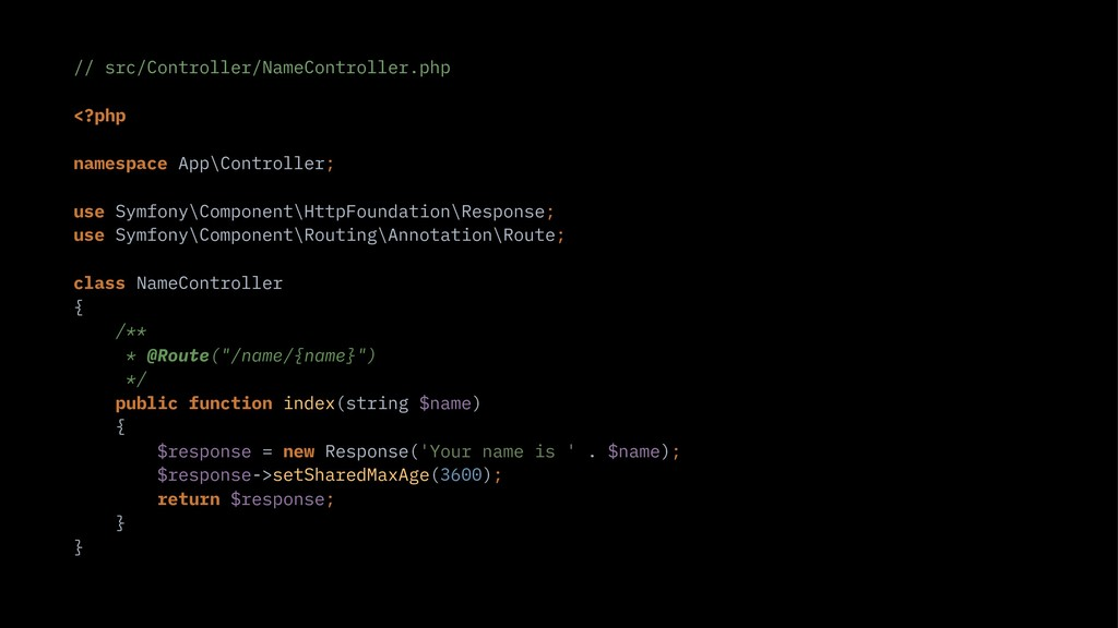 // src/Controller/NameController.php <?php name...
