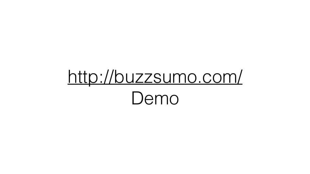 http://buzzsumo.com/ Demo