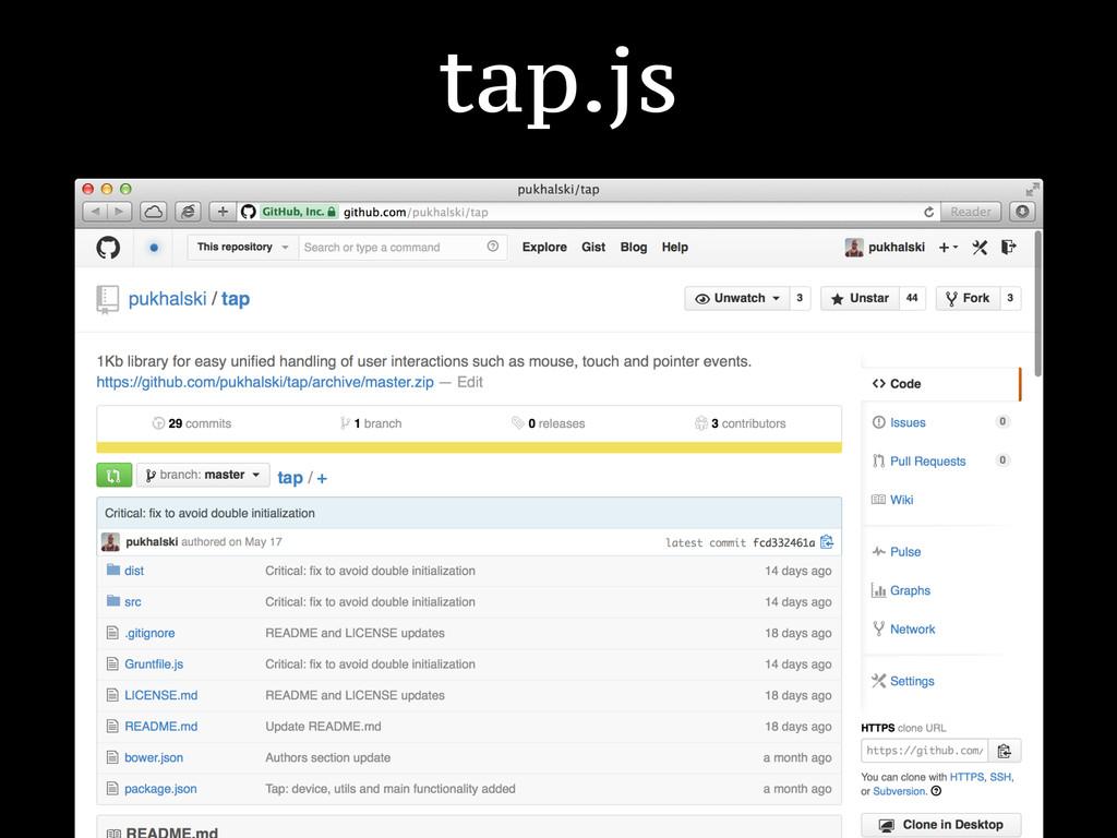 tap.js