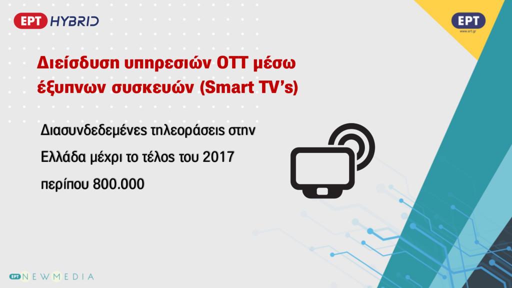 Διασυνδεδεµένες τηλεοράσεις στην Ελλάδα µέχρι τ...