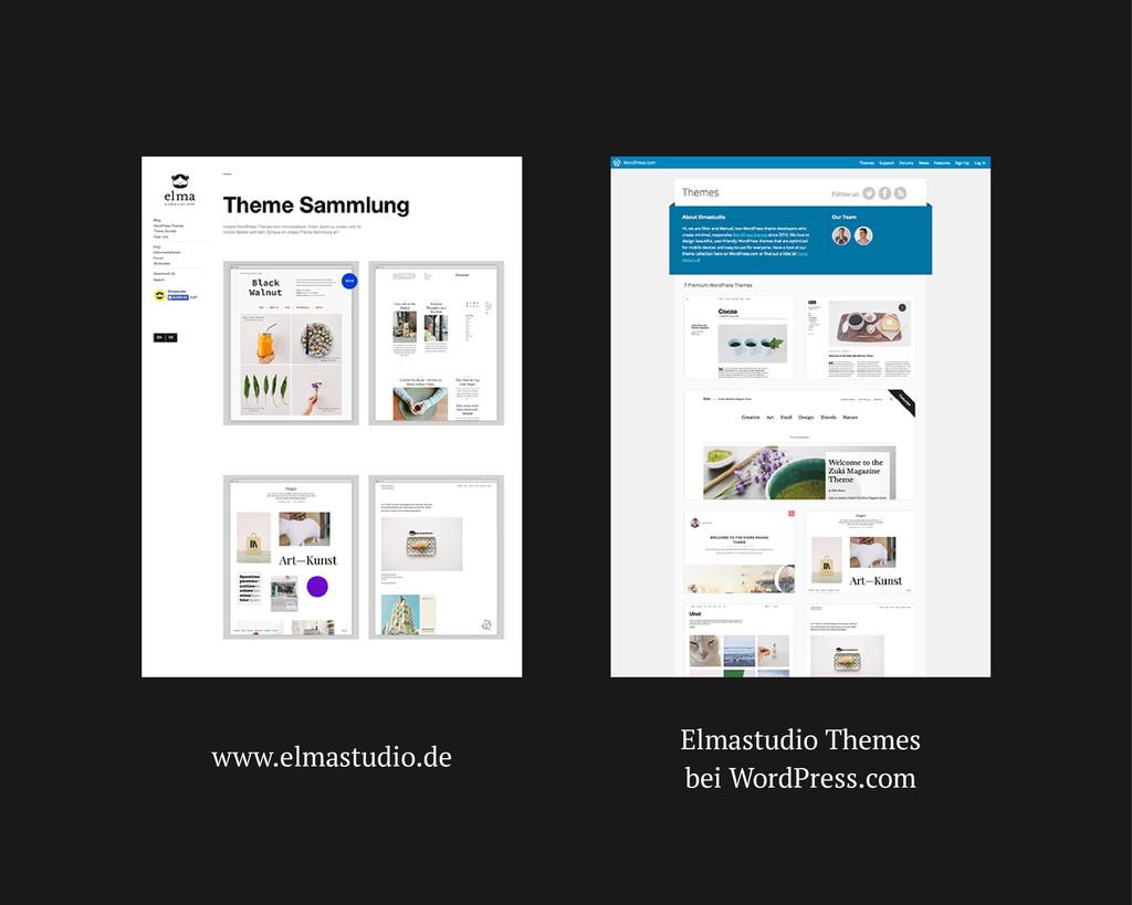 www.elmastudio.de Elmastudio Themes bei WordPre...