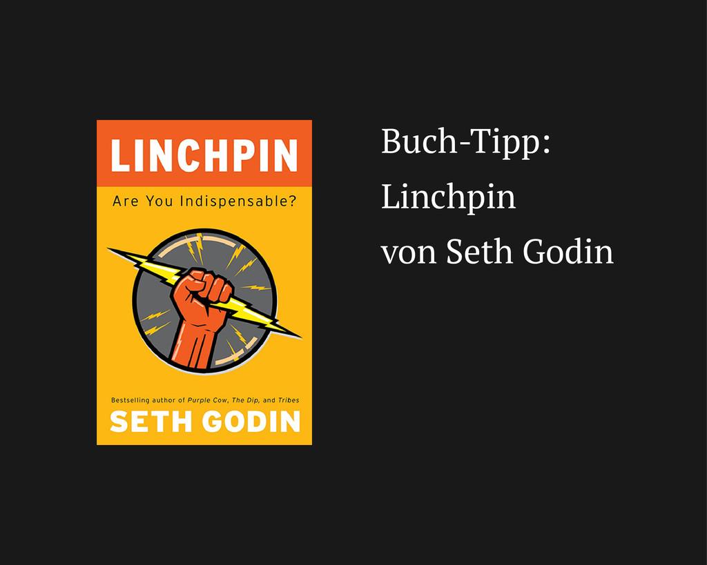 Buch-Tipp: Linchpin von Seth Godin
