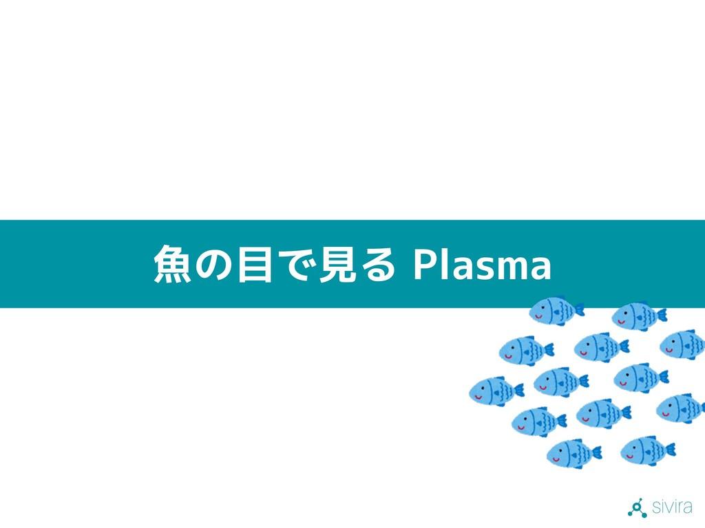 sivira 魚の目で見る Plasma