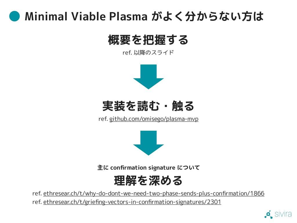 sivira Minimal Viable Plasma がよく分からない方は 実装を読む・触...