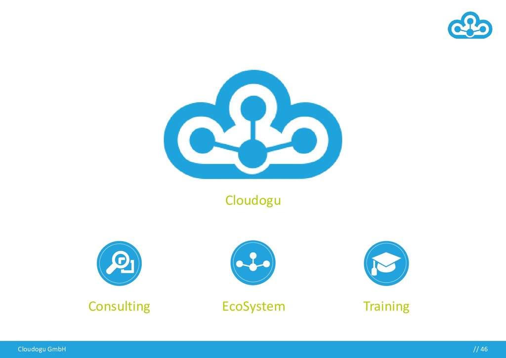 Cloudogu GmbH // 46 Cloudogu Training EcoSystem...