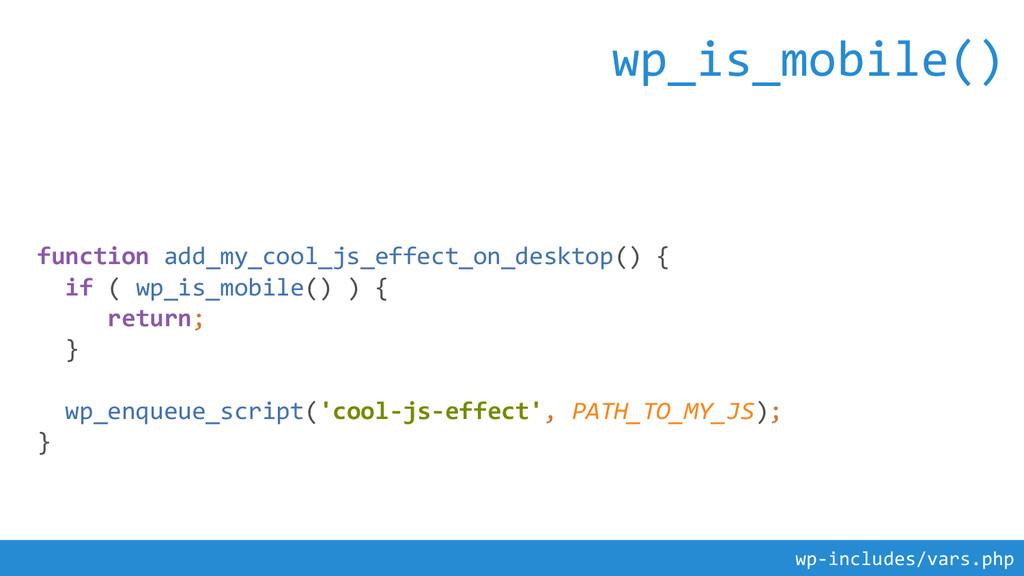 function add_my_cool_js_effect_on_desktop() { i...