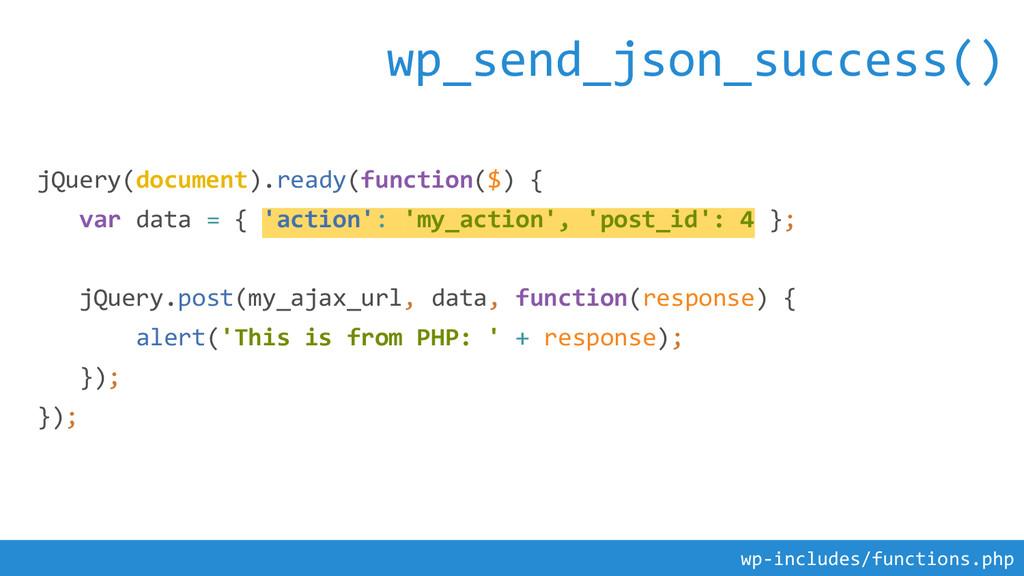 jQuery(document).ready(function($) { var data =...