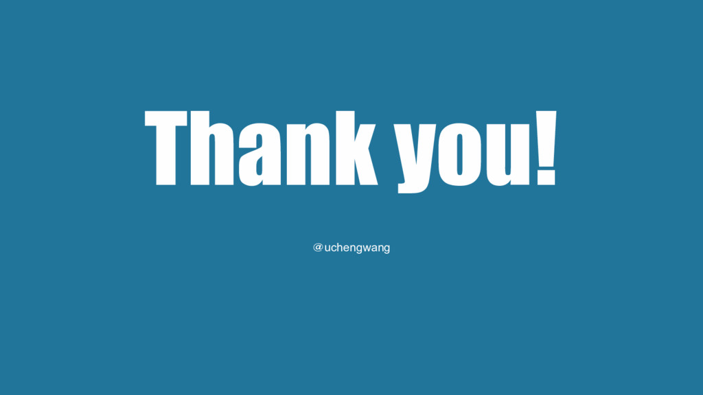 Thank you! @uchengwang