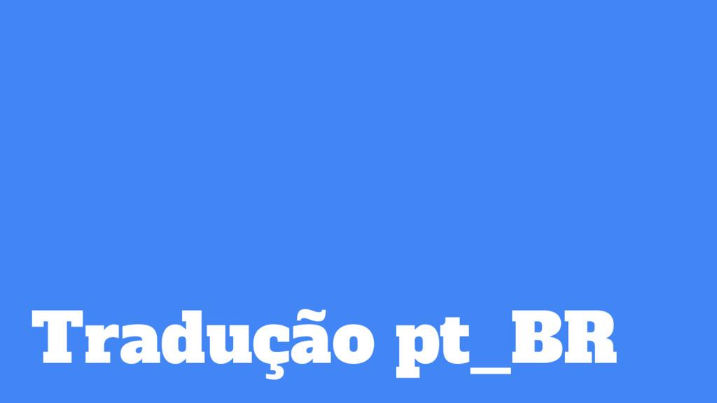 Tradução pt_BR