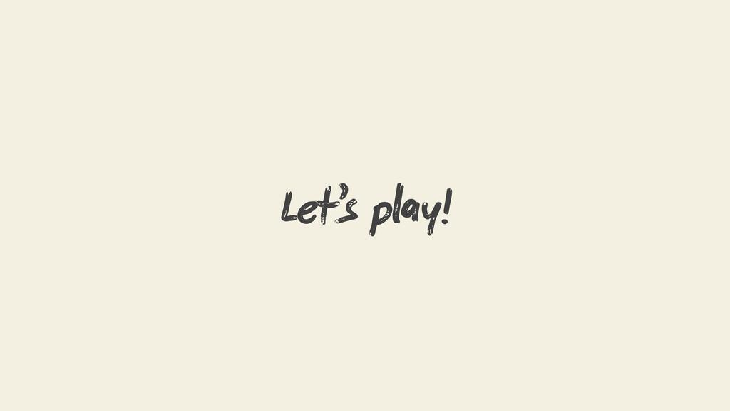 Let's py!