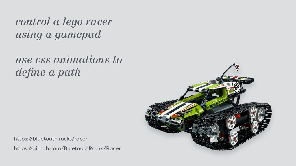 https:/ /bluetooth.rocks/racer https:/ /github....