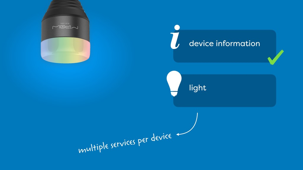 § i device information light multiple services ...