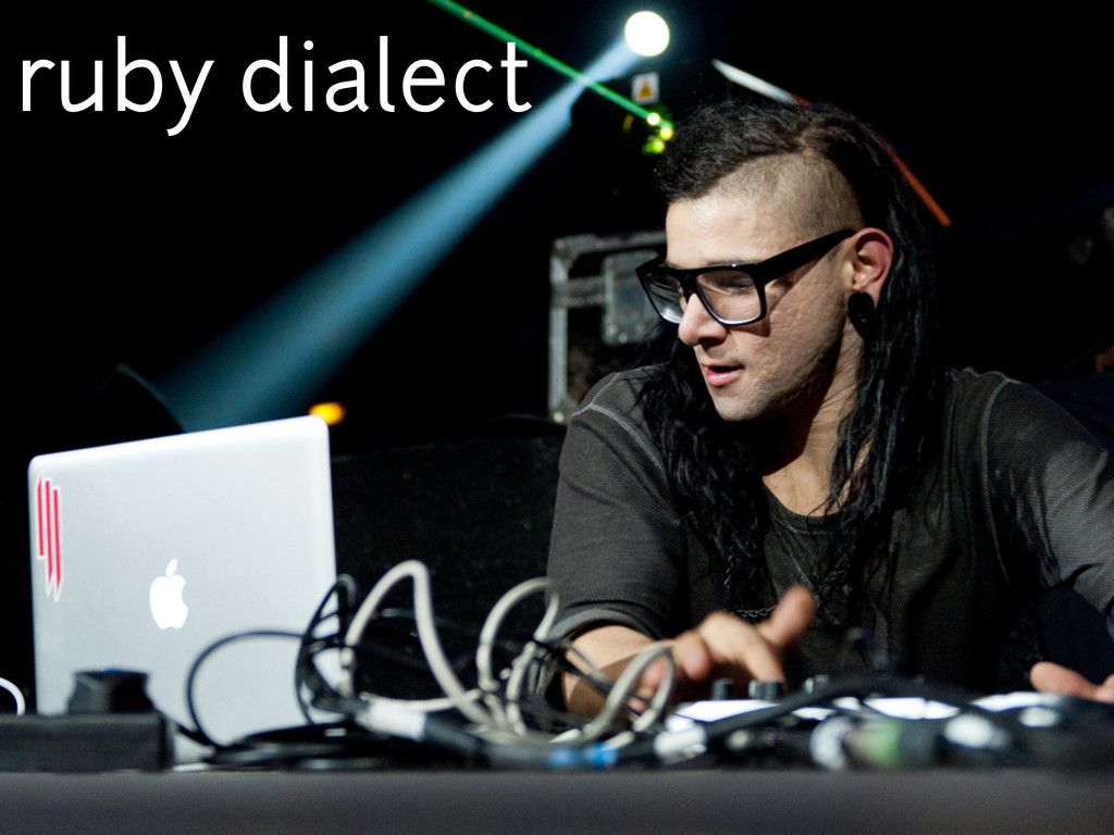 ruby dialect