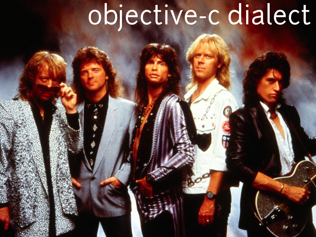 objective-c dialect