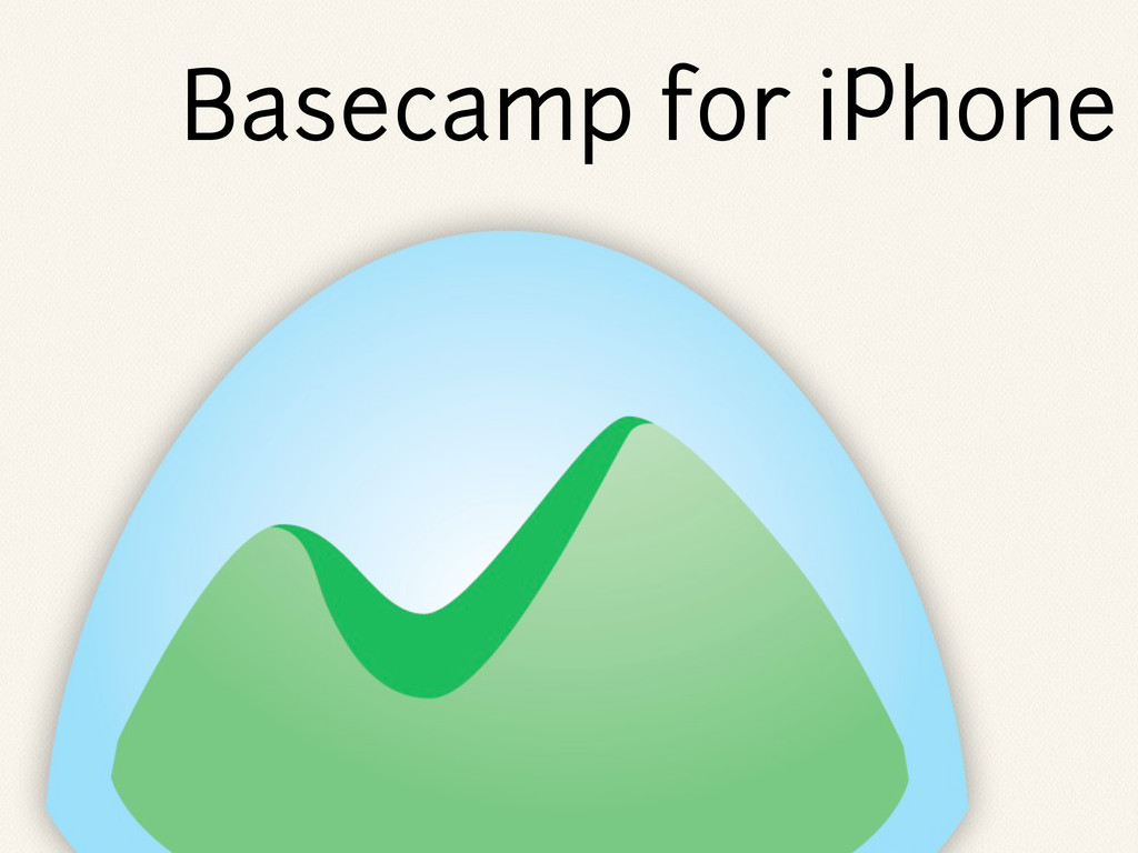 Basecamp for iPhone
