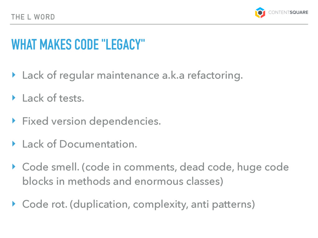 "THE L WORD WHAT MAKES CODE ""LEGACY"" ‣ Lack of r..."