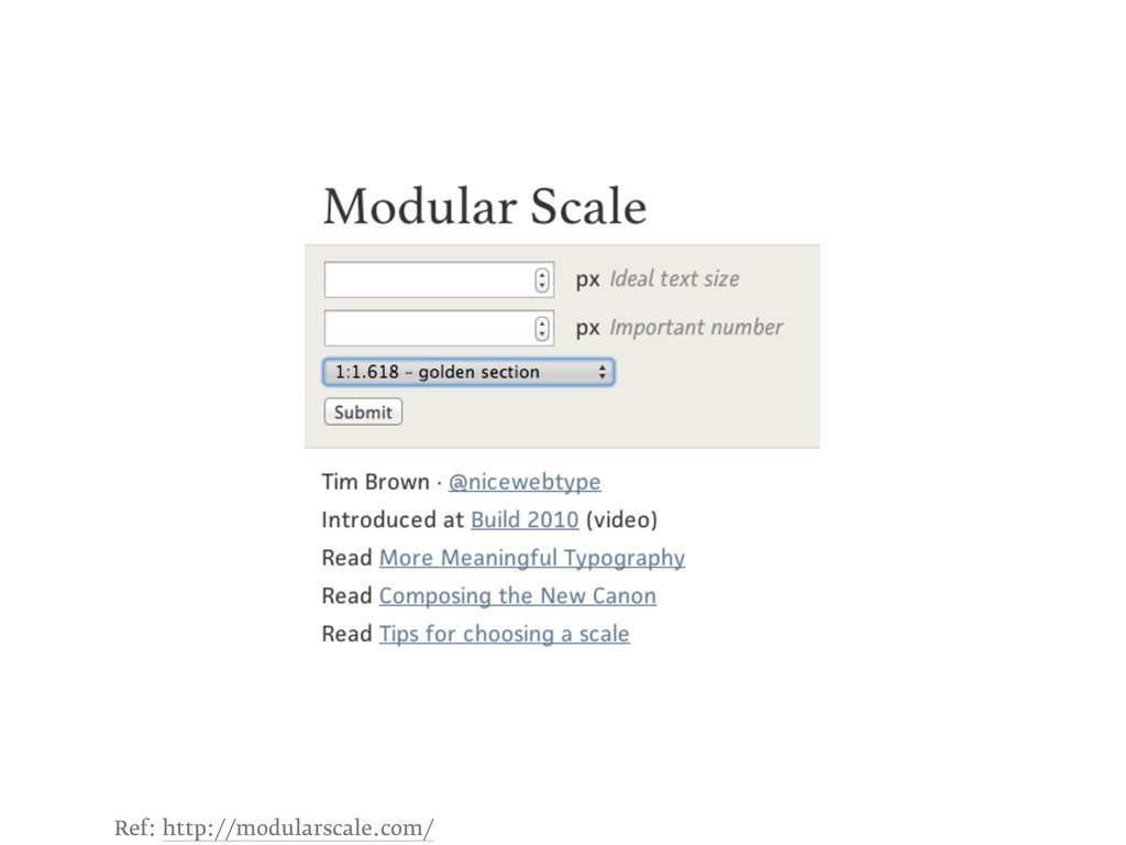 Ref: http://modularscale.com/