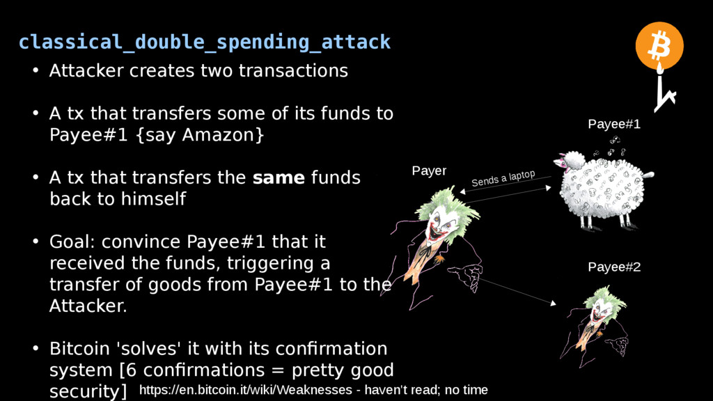 classical_double_spending_attack Payer Payee#2 ...