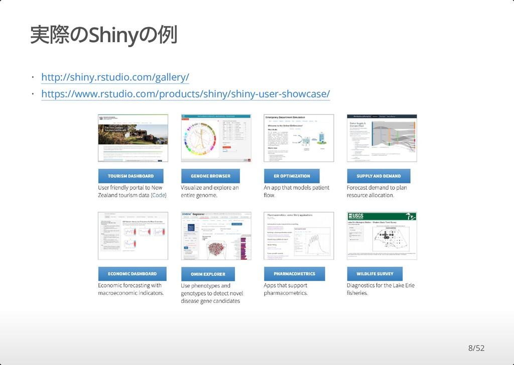 実際のShinyの例 http://shiny.rstudio.com/gallery/ ht...