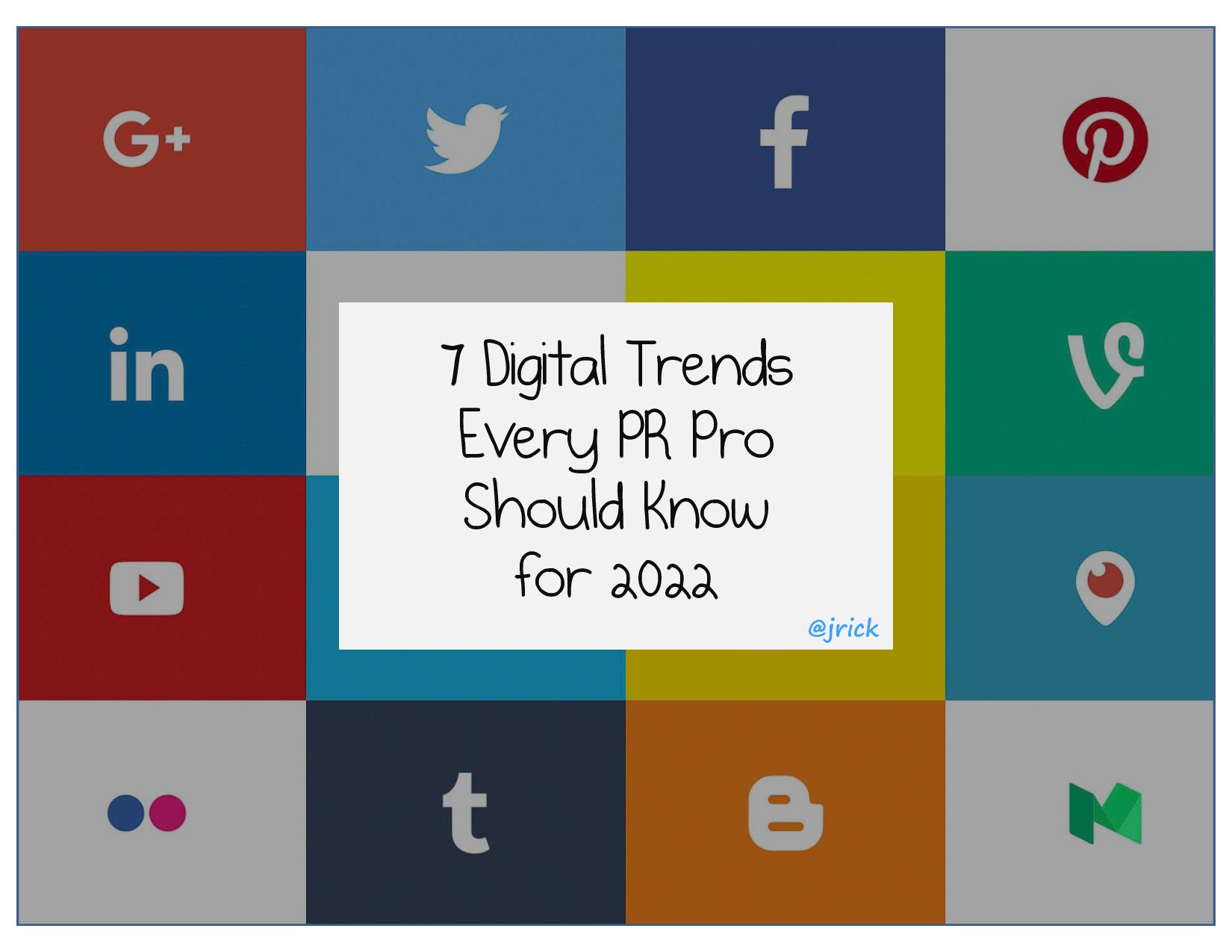 7 Digital Trends Every PR Pro Should Know for 2...