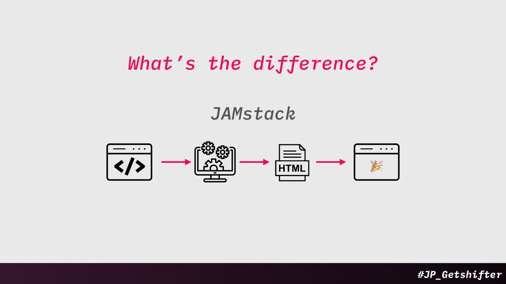 What's the difference? Static WordPress ! #JP_G...