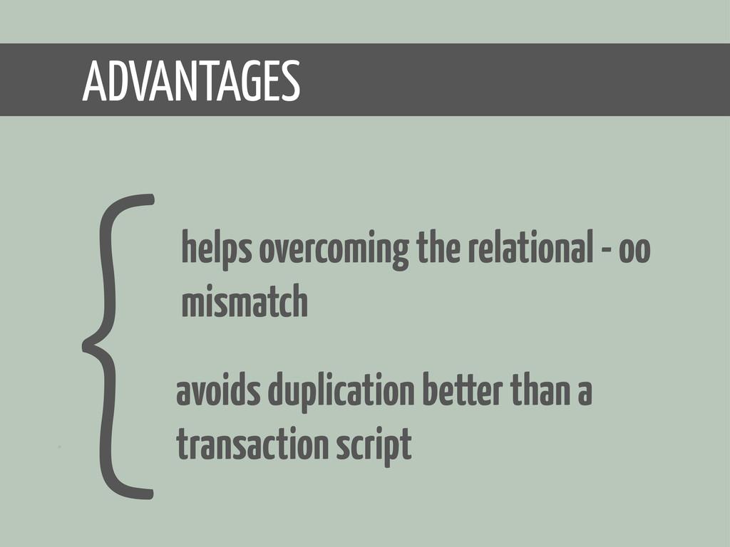 avoids duplication better than a transaction sc...