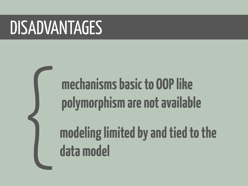 00 { ADVANTAGES DIS modeling limited by and tie...