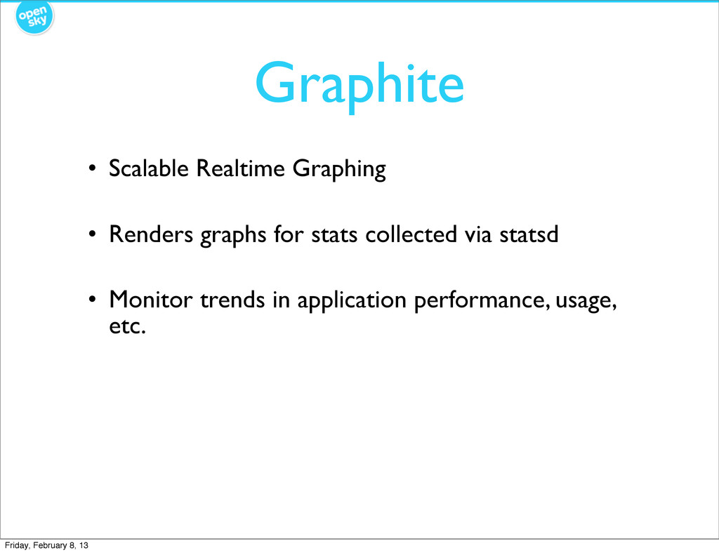 Graphite • Scalable Realtime Graphing • Renders...