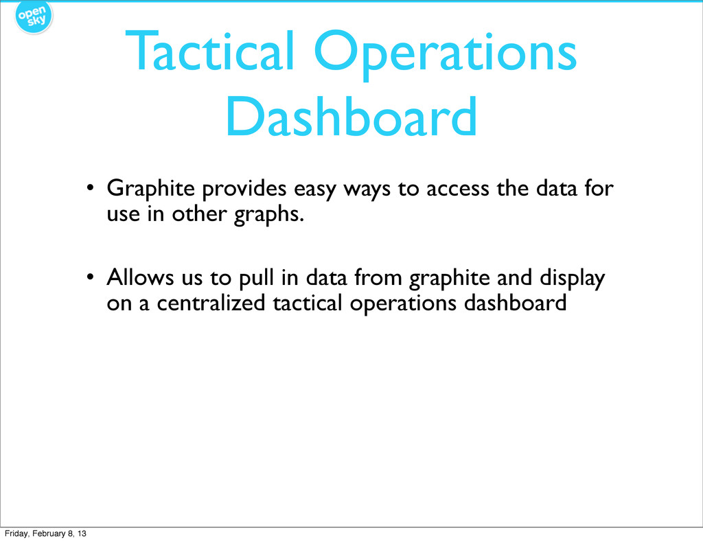 Tactical Operations Dashboard • Graphite provid...